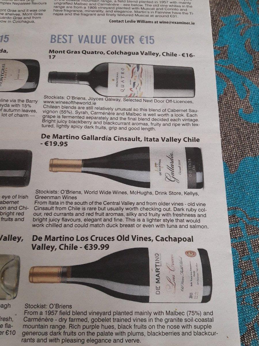 Thank you @LesliesWineFood great wines ☺🍷🍷 (^Douglas Court) https://t.co/TlbYvUEZ14
