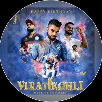 Happy birthday to our legendary cricketer  virat kohli