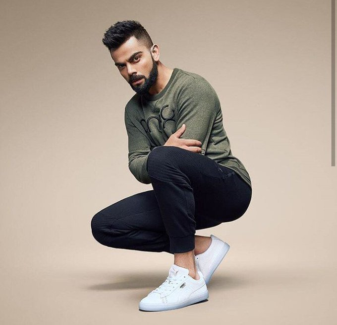 Happy birthday to my fab player virat kohli named as \\ the run machine\\