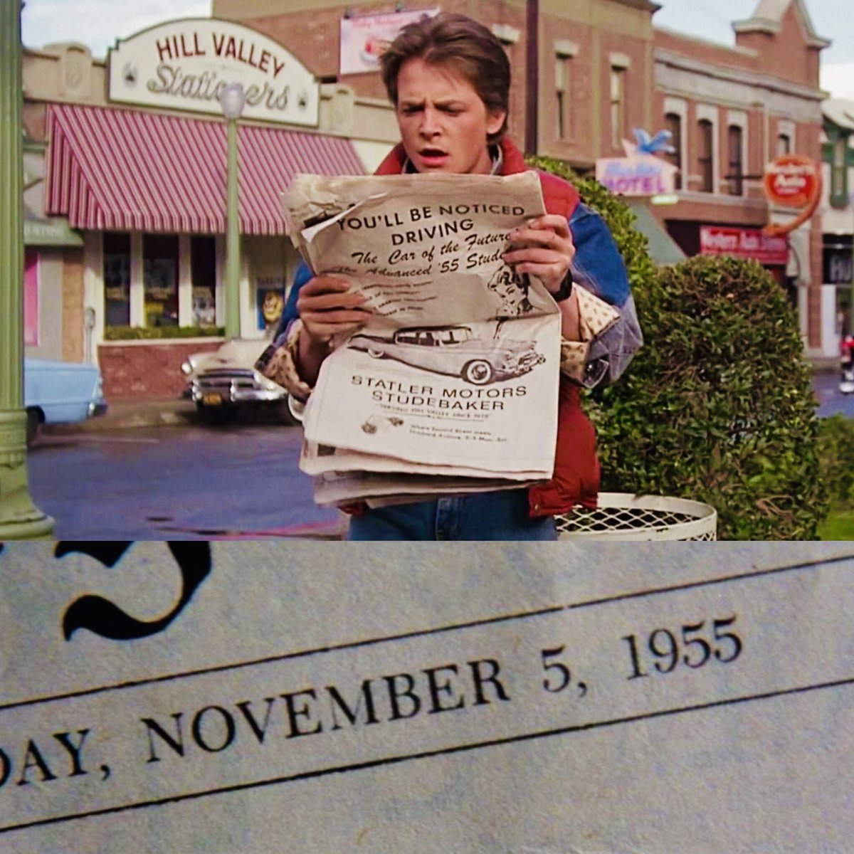 Hill Valley. November 5th, 1955 https://t.co/N3sMgKny9P