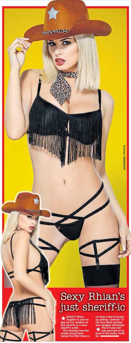 RT @Page3Classics: Yeehaw! This pic of @Rhianmarie grabs the #2 spot of the #Top5TweetsOfLastWeek https://t.co/xnAJFLAnL8