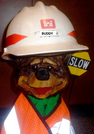 test Twitter Media - Road Work Notice: FF Highway will be restricted to one lane from Homer White Road to Indian Hills Drive for emergency road repairs on Tuesday (11/6) and Wednesday (11/7). Buddy reminds drivers to be cautious in construction zones. #BuddyParkerPKV https://t.co/tpNW9vZMRd