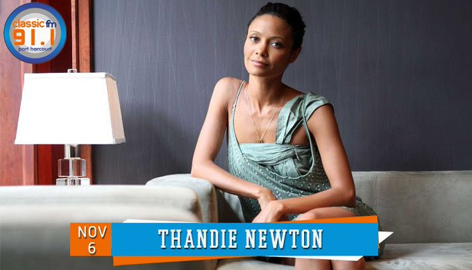 Happy birthday to South African-born actress, Thandie Newton.