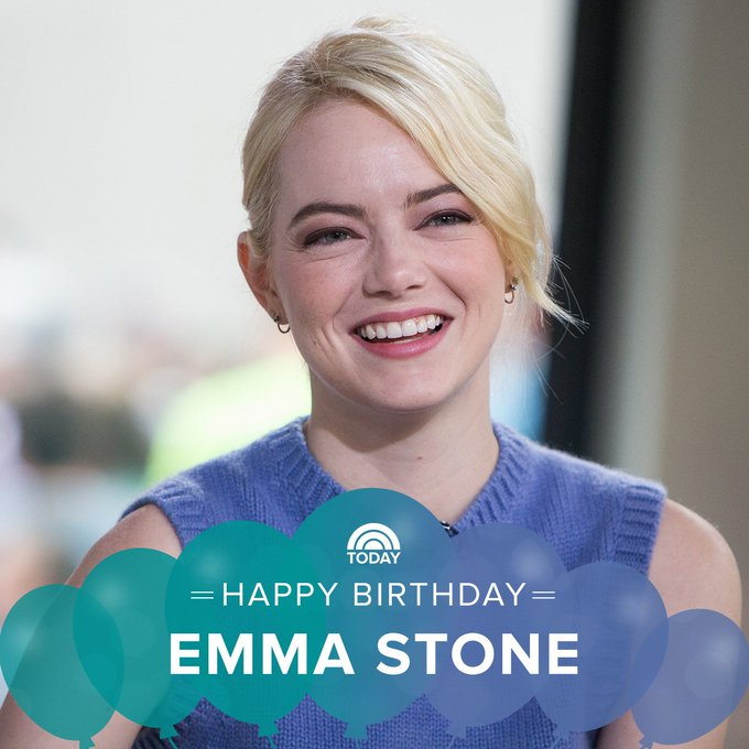 Happy 30th birthday, Emma Stone!