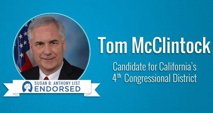 Our Candidate Fund is proud to support Rep. @TomMcClintock for reelection in #CA04!! Tom is a strong #ProLife advocate - whereas his opponent, Jessica Morse, is a pro-abortion extremist.   We urge voters to get out and vote to protect life today!   #IVoteProLife✅