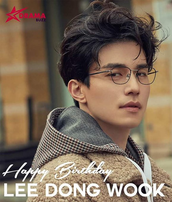 He doesn\t seem to age!  Happy Birthday, Lee Dong Wook