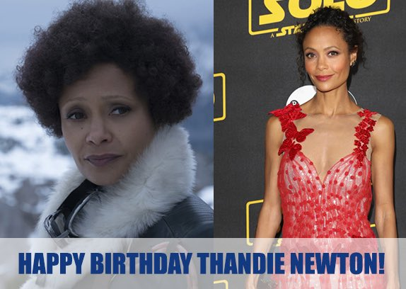We would like to wish a very happy birthday to Thandie Newton today!