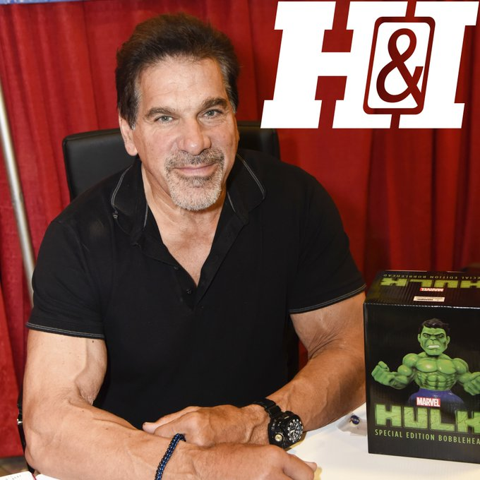 Happy 67th Birthday Lou Ferrigno, born in 1951!