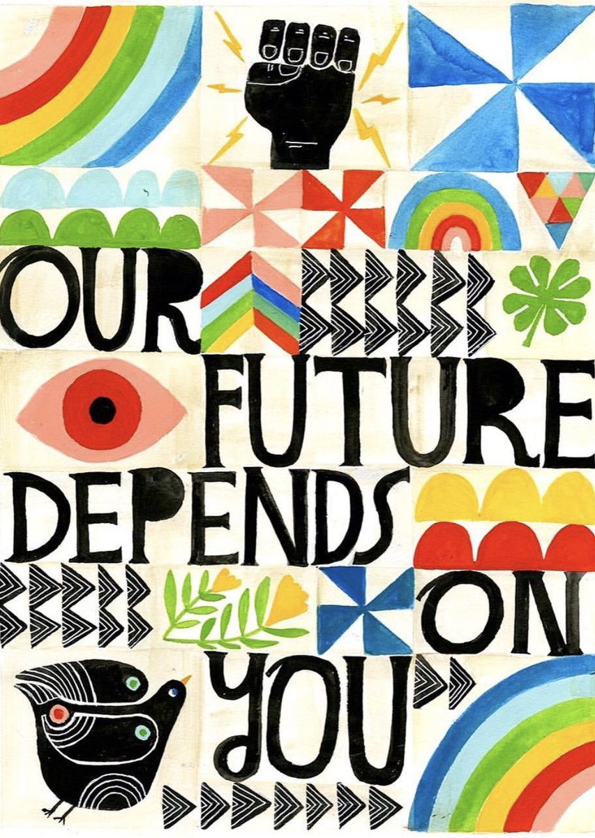 ✊????✊????✊????. #vote #today #future ???? by Lisa Congdon https://t.co/LQkZLLBJiD