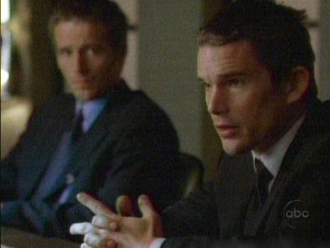 "Happy Birthday, Ethan Hawke. Remember that time he guested on ""Alias\""?"