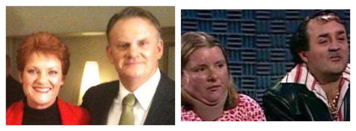 Gruesome twosome #auspol #hansen #latham #ausvotes #phon #onenation #gruesometwosome https://t.co/Wf9mAEXiHo