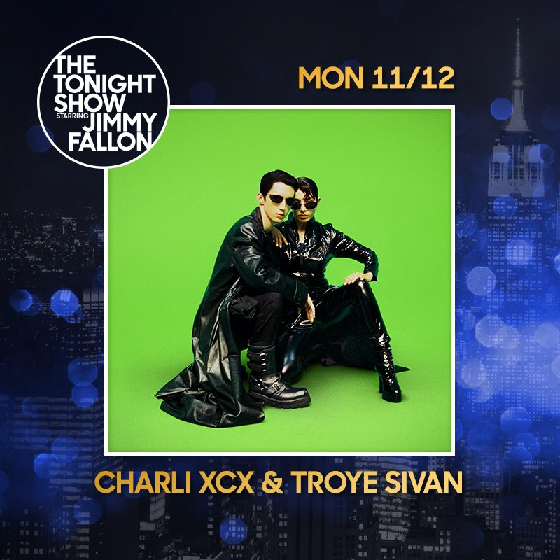 RT @troyesivan: ????????????so excited for this one @charli_xcx @FallonTonight ???????????? https://t.co/K62u3Ix7lN