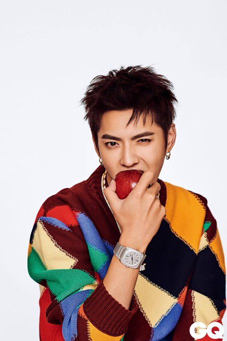 Happy birthday Kris Wu Wishing you happiness and success in your life