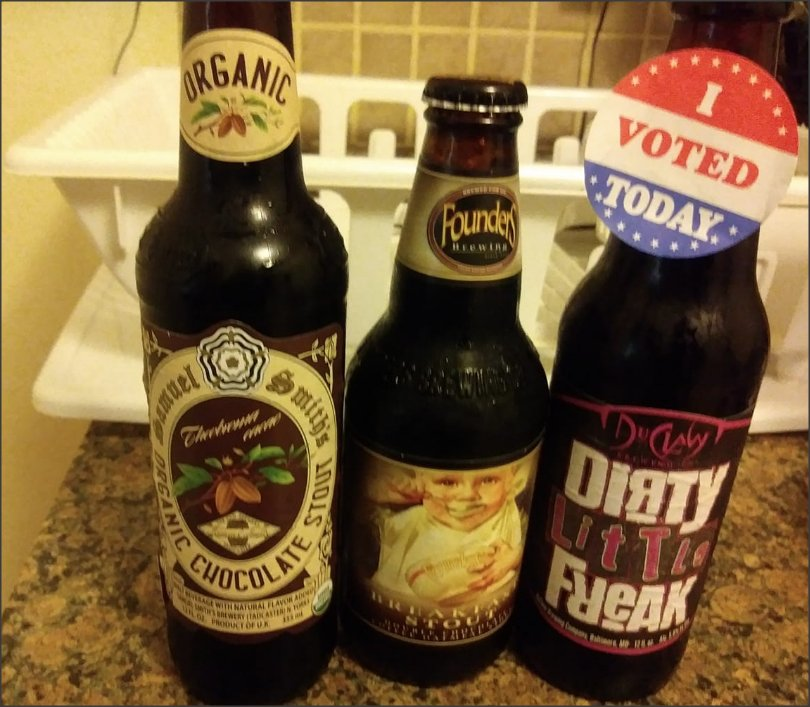 3 of my favorite #craftbeers #craftbeerporn that I'm gonna enjoy with my boo, to celebrate the #BlueWave2018