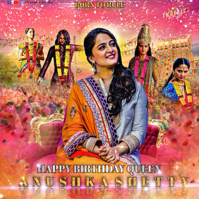 Happy birthday Anushka shetty Happy diwali