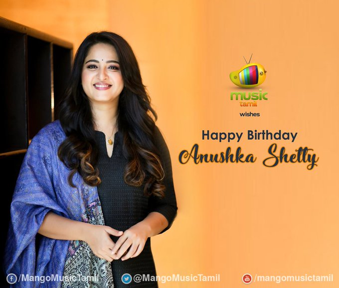 My princes Happy birthday Anushka shetty