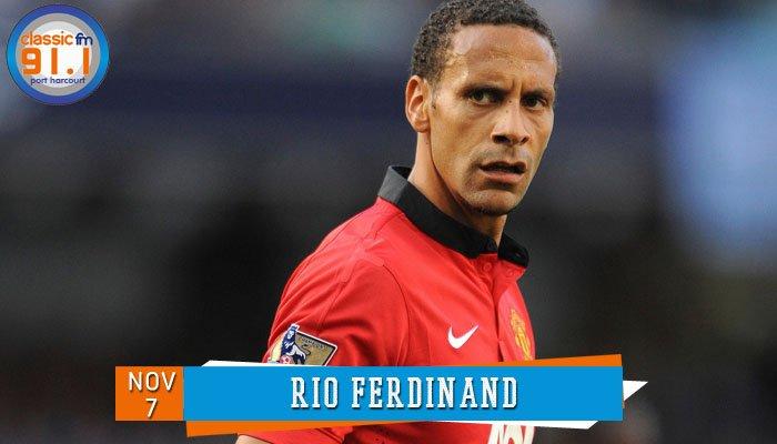 Happy birthday to former England Football international and Manchester United defender, Rio Ferdinand.