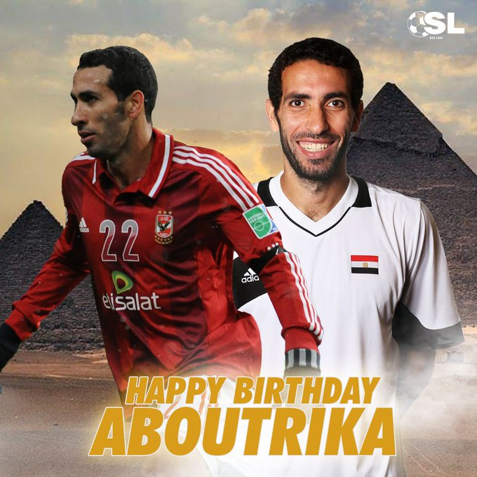 | Happy Birthday to Egypt and Al-Ahly club legend, Mohamed Aboutrika!