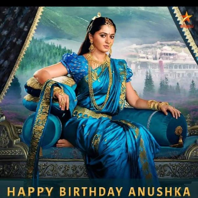 Wishing the ever gorgeous actress Anushka Shetty a very Happy Birthday