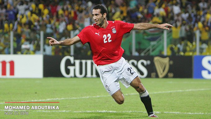 Happy 40th birthday to El Ahly and legend Mohamed Aboutrika.