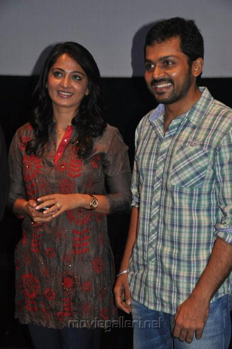 Happy Birthday Anushka Shetty on Behalf Karthi Anna Fans