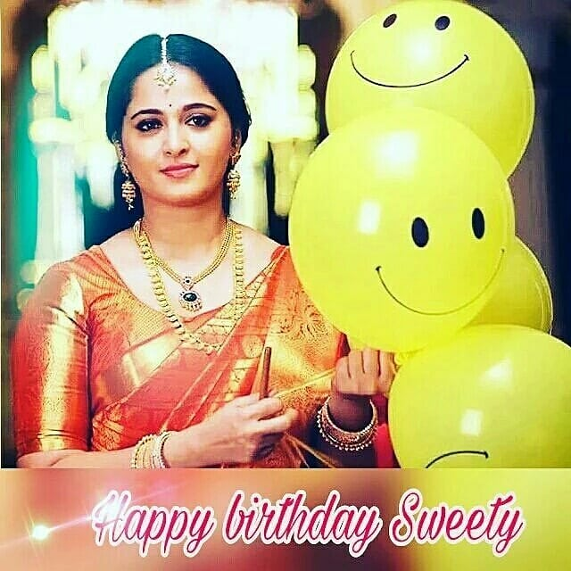 Happy Birthday Wishes To Anushka Shetty         My Dream Girl