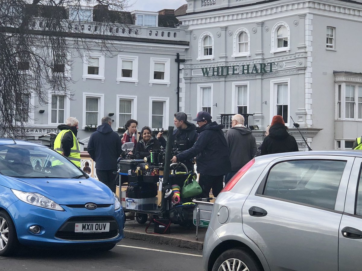 test Twitter Media - Filming in #Boston has started on a new #ITV drama with @RobLowe and @Angela_Griffin, there's a bit of excitement with the locals! @itvcalendar https://t.co/Ww4T6V11Ej