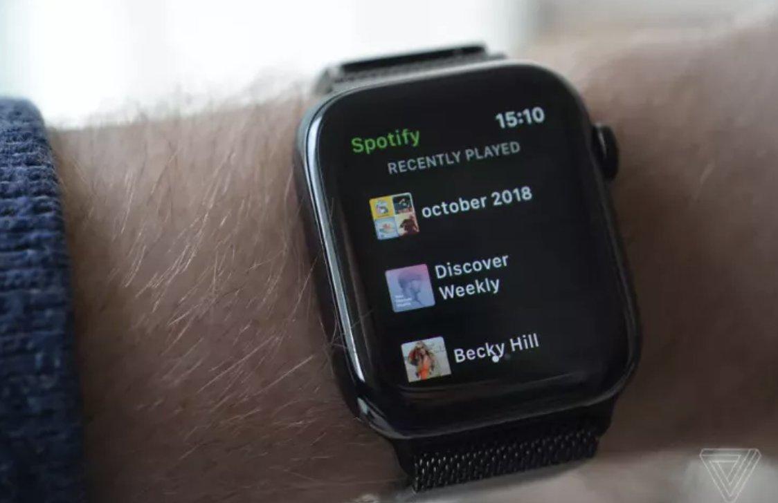 .@Spotify's new app for Apple Watch  Check it out 👇 https://t.co/o8UBEsjeFN https://t.co/syWqs4Av4V