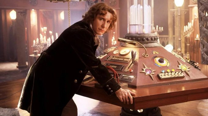 Happy Birthday to the Eighth Doctor, Paul McGann!