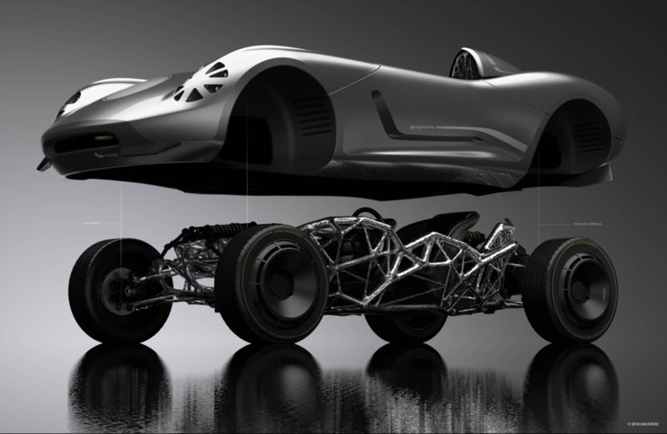 @harrismonkey Yo Chris, keep your eye out for these guys. The badassness potential of 3D printing × generative design × auto is real.  Hackrod (run by some rad dudes, too). https://t.co/Uka9qFk8st