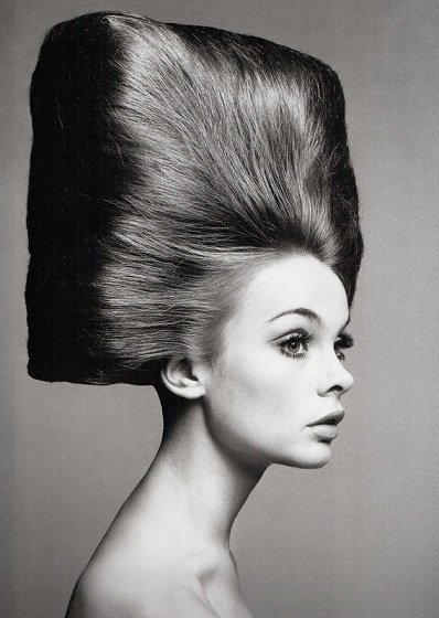 "Happy birthday to ""The Shrimp,\"" Jean Shrimpton, photographed here by Richard Avedon in 1965."