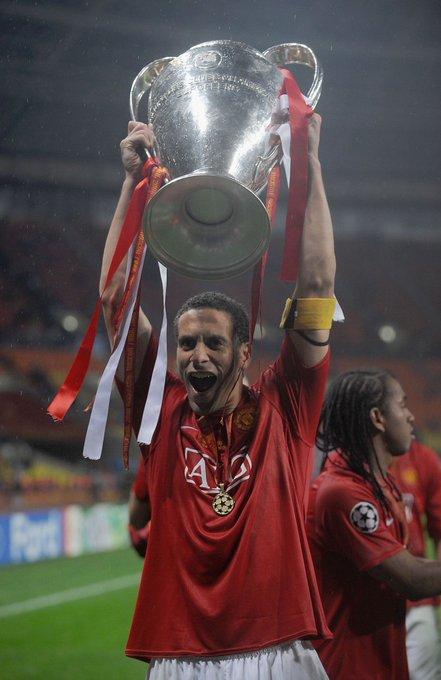Happy 40th Birthday Rio Ferdinand   Premier League      Champions League League Cup