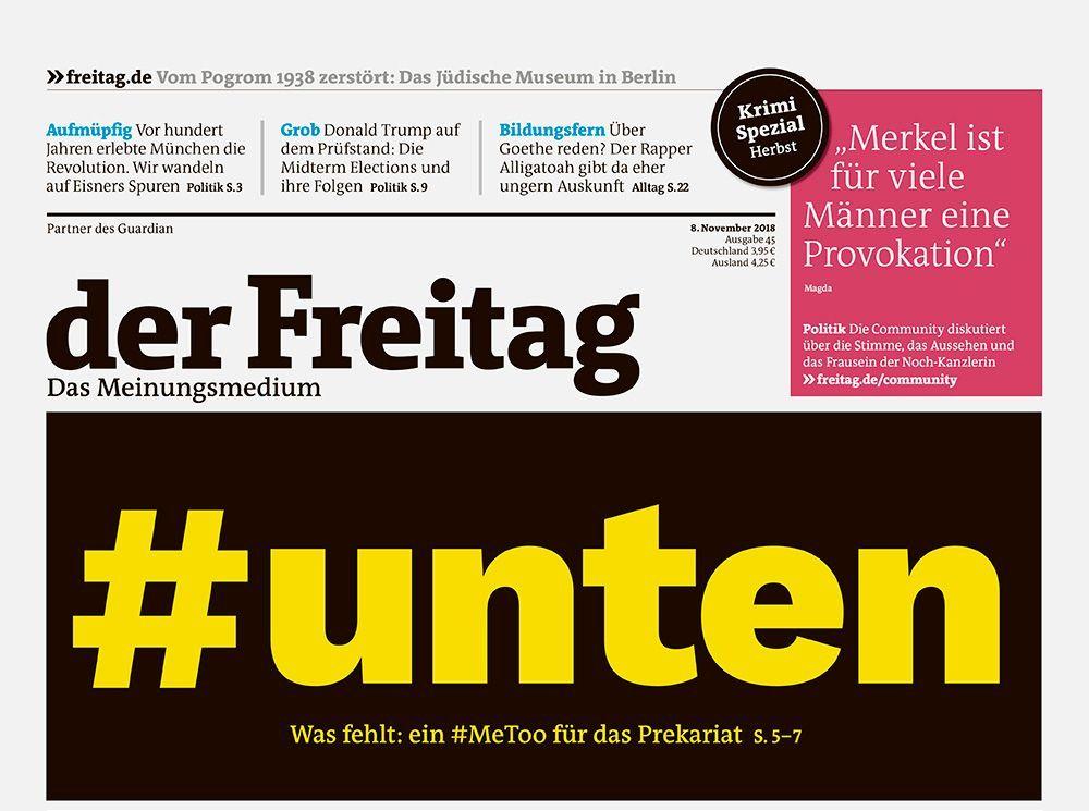 test Twitter Media - Was fehlt ist ein #MeToo für das #Prekariat: #unten  Im neuen @derfreitag am #Kiosk oder als #WebApp  https://t.co/8a748GGr7B https://t.co/uuVnXdaPcb