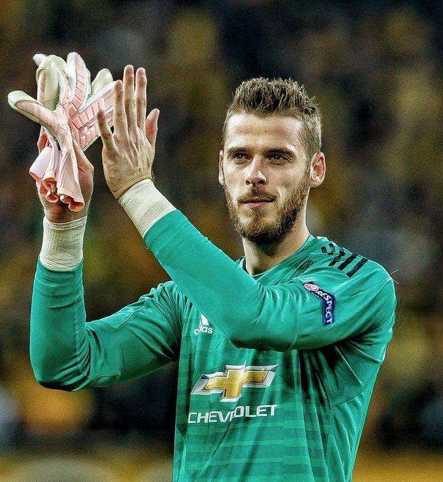 Happy birthday to one of the best goalkeepers in the world, Manchester United\s David De Gea turns 28 today.