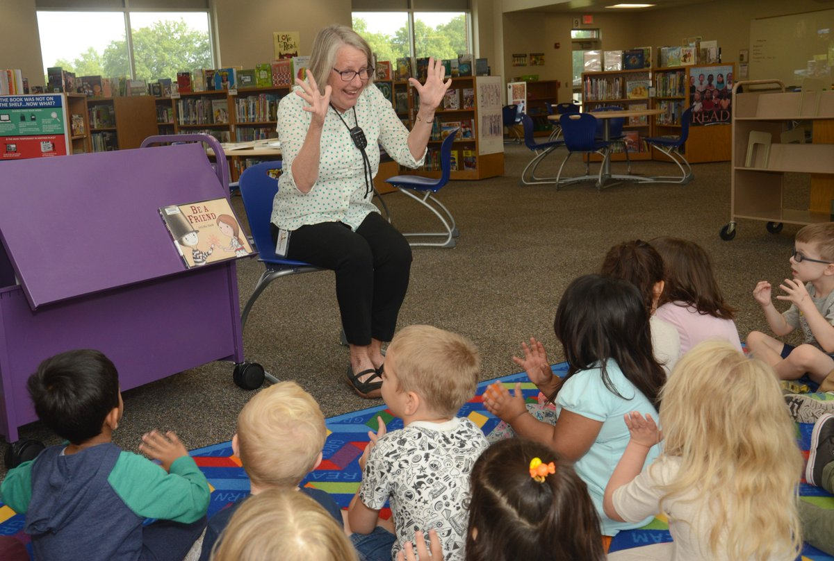 RT @LibraryServ_LPS: Preschoolers at Meadow Lane love storytime!  #LPS https://t.co/oV1arLojhA