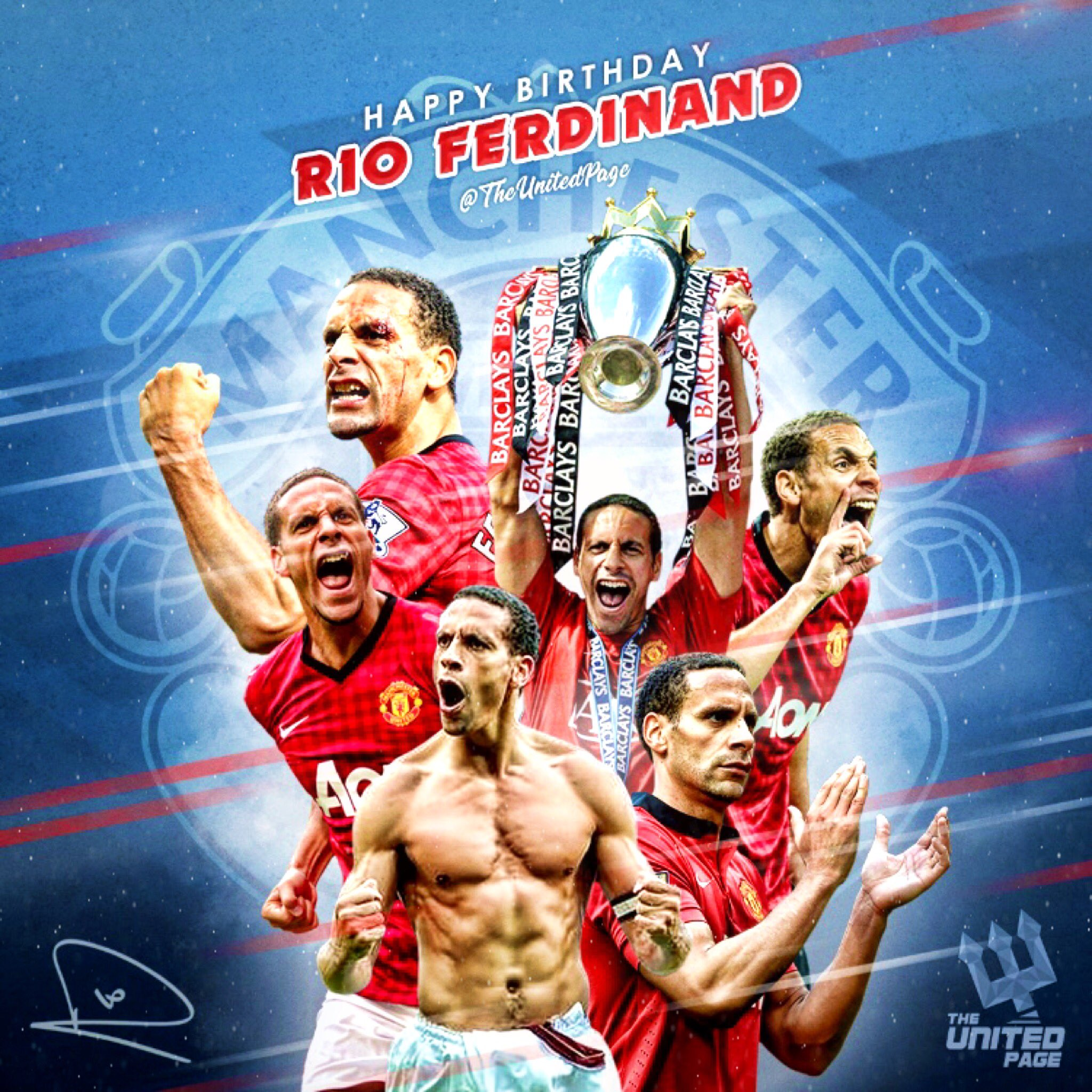 Happy 40th birthday to the legend that is Rio Ferdinand!