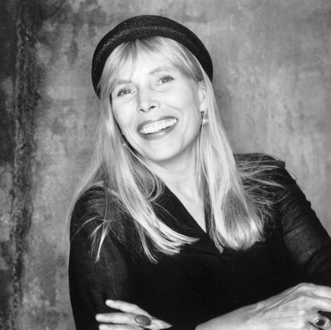 Happy 75th Birthday Joni Mitchell! Your music is such a beautiful gift to the world.