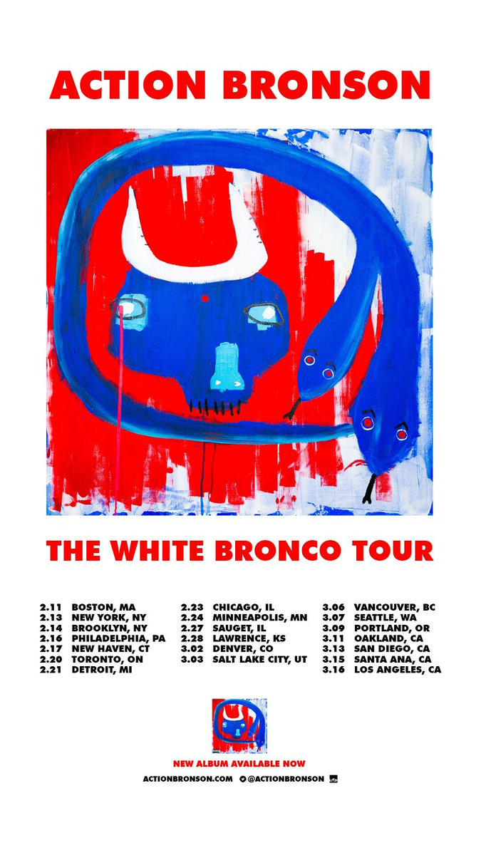 WHITE BRONCO TOUR WITH @rocmarci AND @MeyhemLauren GET YOUR TICKETS NOWWWWWWWWWWWWW!!!!! https://t.co/tjaegPX26i