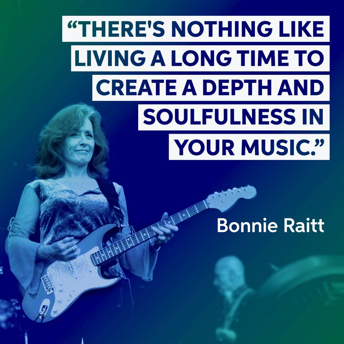 Happy Birthday to the great Bonnie Raitt!