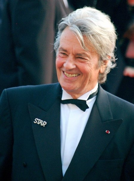 From, île-de-france,France,happy birthday to the great actor, Alain Delon,he turns 83 years today
