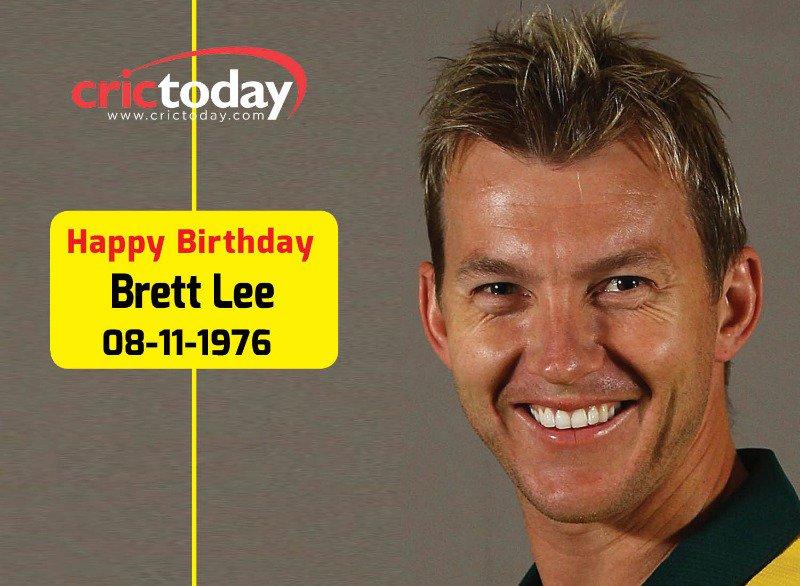 Wishing Brett Lee A Very Happy Birthday