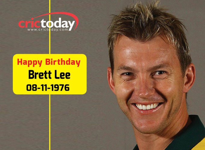 Wishing Brett Lee A Very Happy Birthday