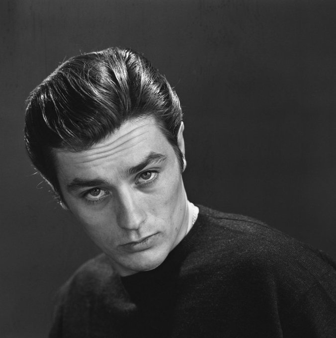 Happy 83rd Birthday to the iconic French actor Alain Delon!  (November 8, 1935)