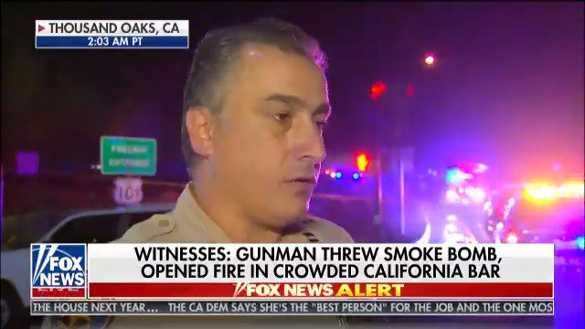 """Ventura County Sheriff's Office Captain Garo Kuredjian: """"I don't know what the condition of any of the victims are at this point."""" @FoxFriendsFirst"""