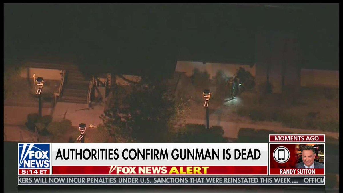 Authorities confirm gunman is dead @FoxFriendsFirst