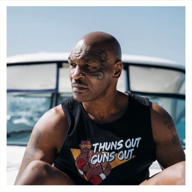 The T-shirt says it all. Need Miami vibes soon #artbasel #miketyson https://t.co/XIWzZC1qol