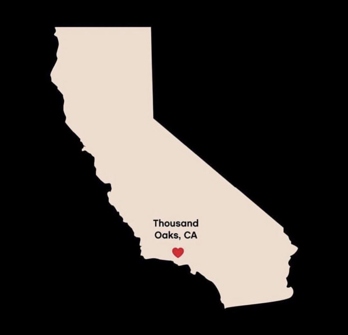 my heart is with you, Thousand Oaks ???? https://t.co/QoGg3kLGrT