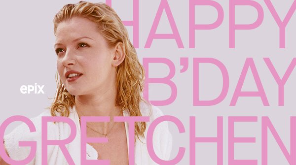 Happy birthday, Gretchen Mol!