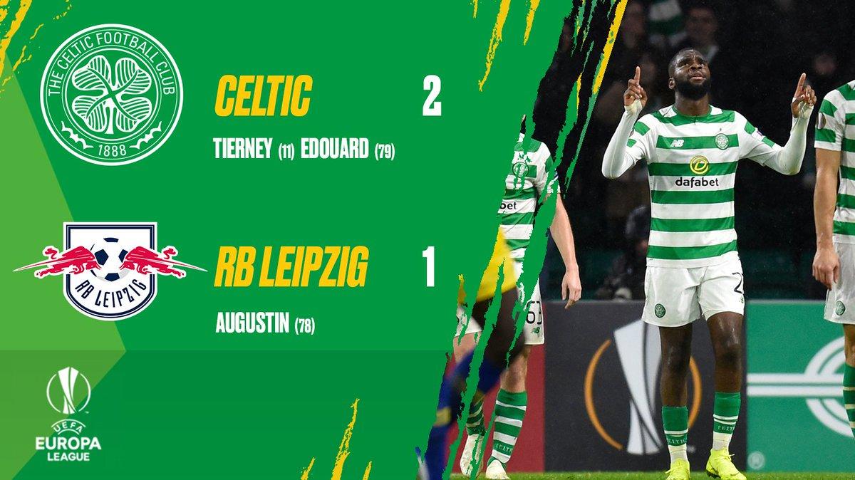 RT @CelticFC: What a win! 😁 #CELRBL #UEL https://t.co/5GLFO22cTB