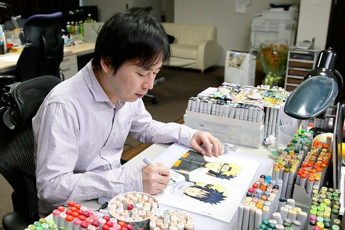 Happy 44th Birthday Masashi Kishimoto!! I m honored to share a birthday with one of my favorite authors.
